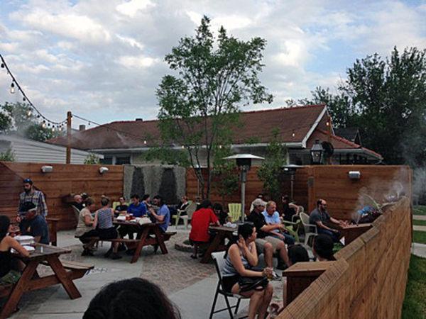 Mid-City patio